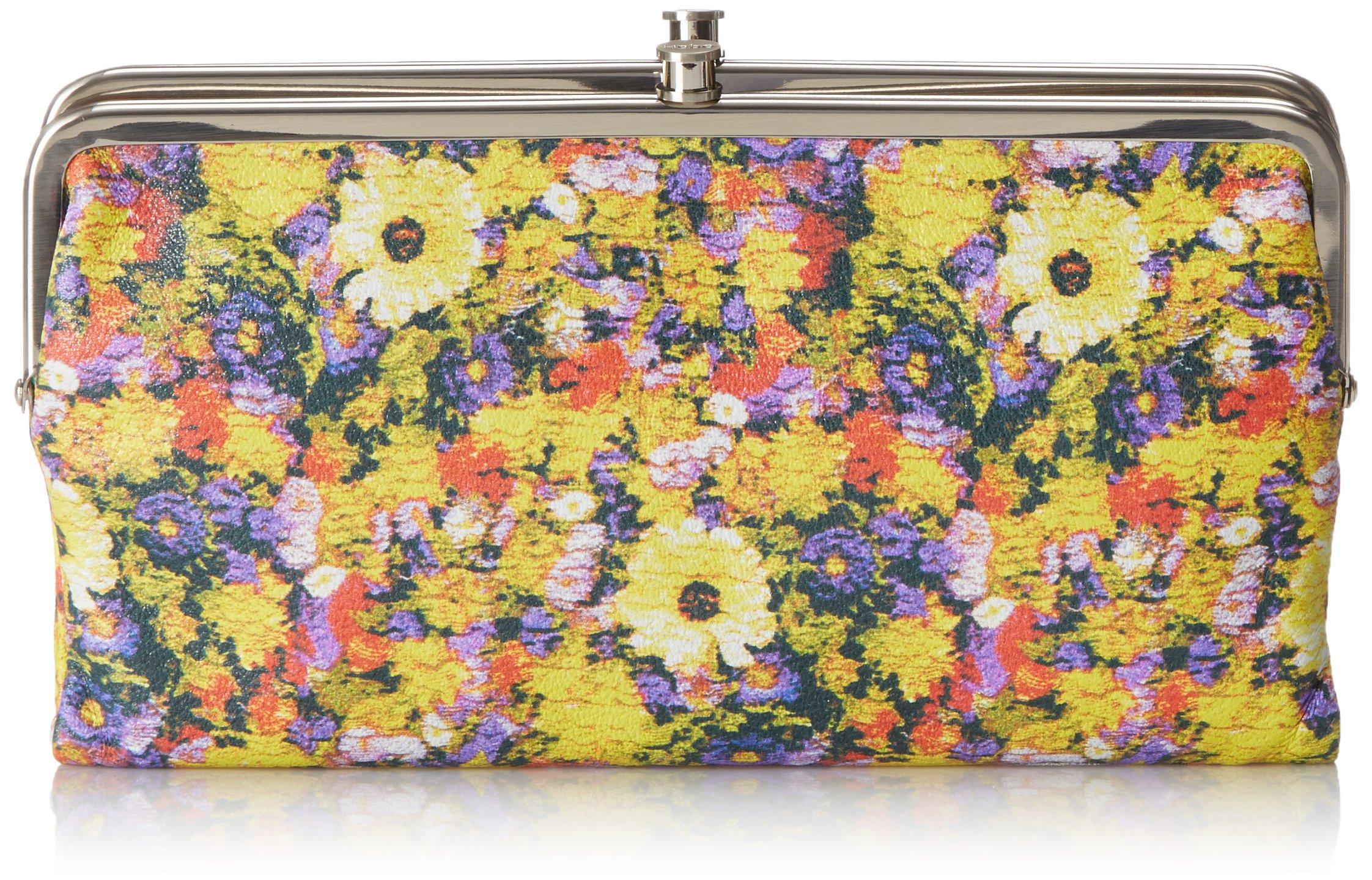 HOBO Vintage Lauren Wallet, Daisy Floral, One Size