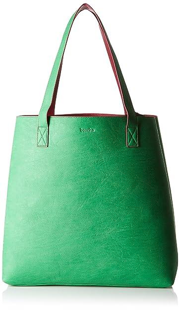 Boscha Shopper Bag, Sacs portés épaule femme, Grün (Green), 12x37x38 cm (L x H D)