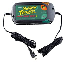 Battery Tender 022-0186G-DL-WH 12V 5-amp Battery Charger