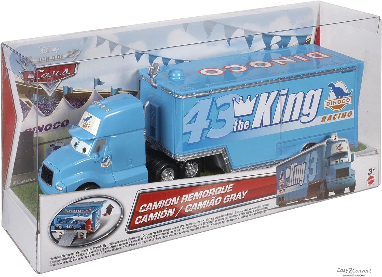 Disney BLV13 Pixar Cars-DIE CAST Vehicle-Wally Hauler Mehrfarbig