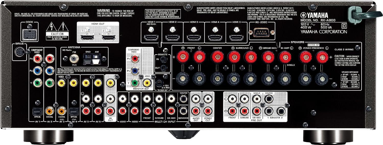 Amazon com: Yamaha RX-A800 7 1-Channel Audio/Video Receiver