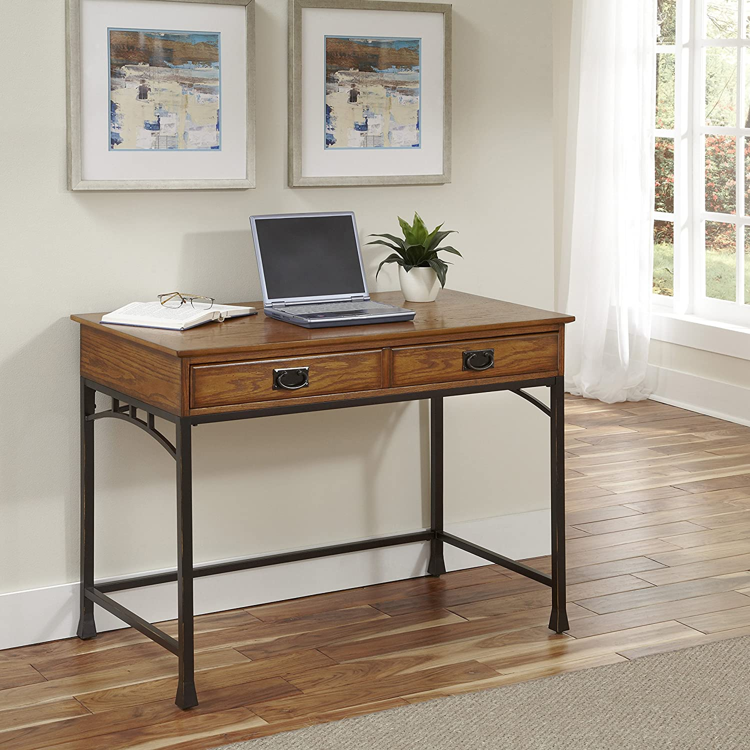 Amazon.com: Home Styles Furniture 5050 16 Modern Craftsman Student Desk:  Kitchen U0026 Dining
