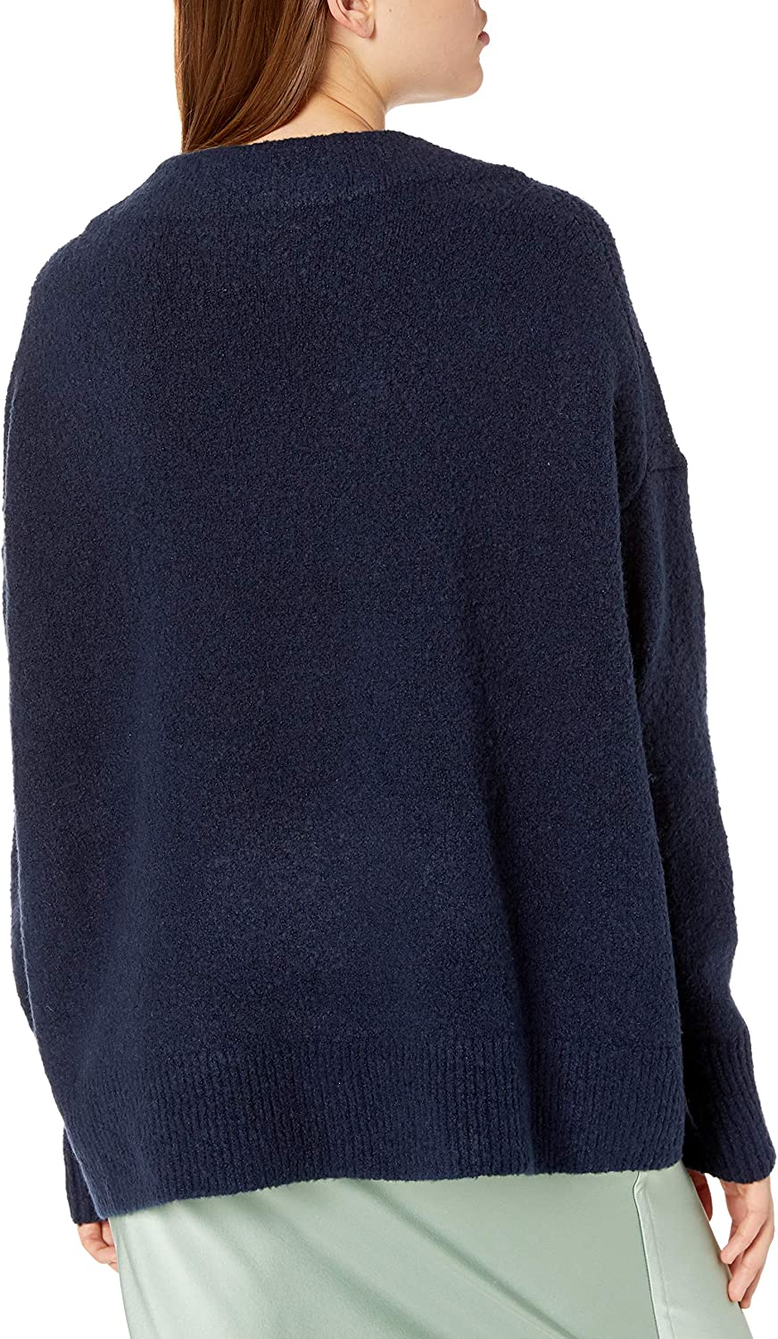 Cable Stitch Womens Mock Neck Cozy Sweater