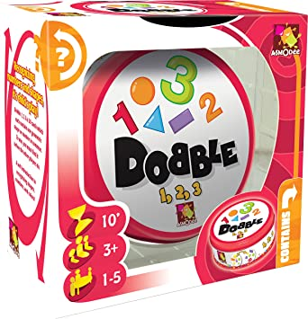 Amazon.com: Dobble 123 Game: Toys & Games