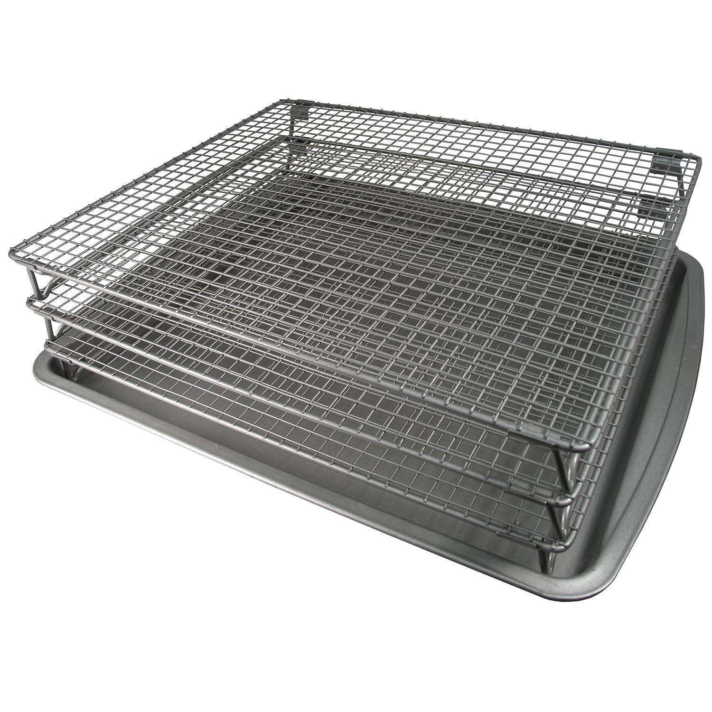 Weston 7-155-W 3-Tier Jerky Drying Rack 07-0155-W