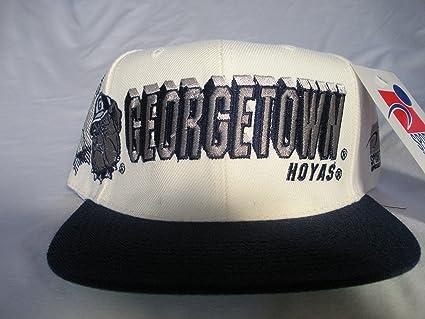 1aecf326635 best price georgetown hoyas vintage sports specialties shadow script snapback  hat 15362 276a0