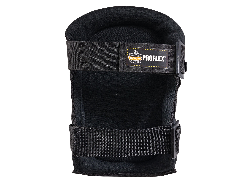 Ergodyne ProFlex 347 Long Cap Lightweight Gel Knee Pads, Black by Ergodyne