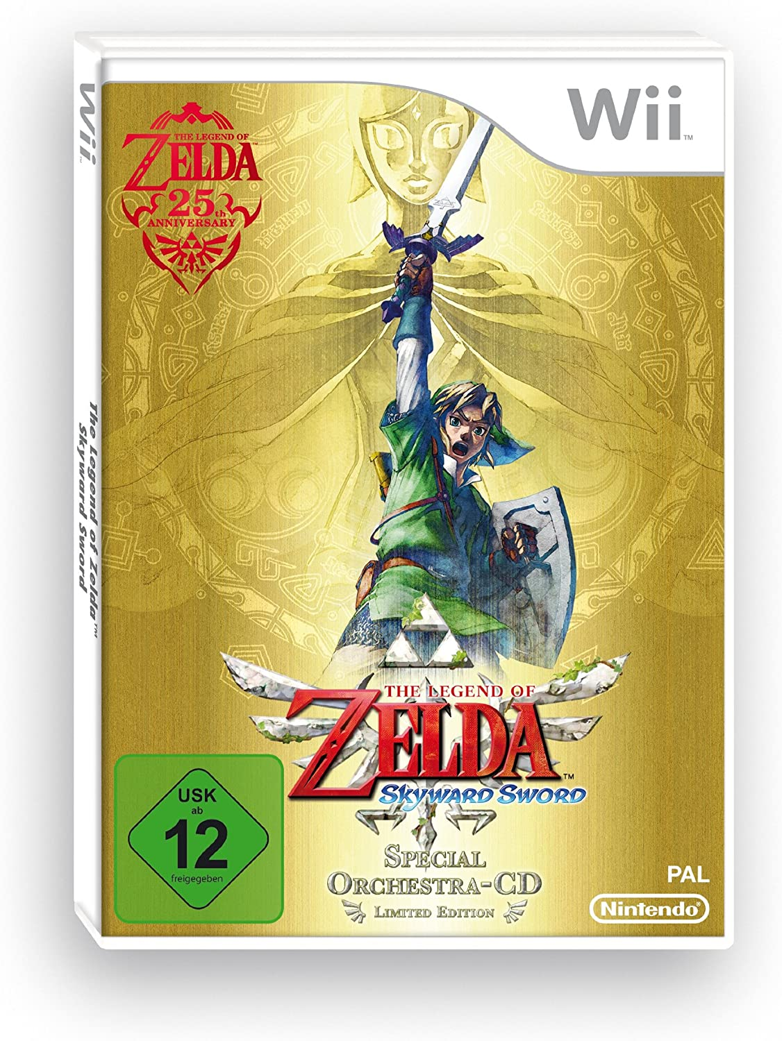 Nintendo The Legend of Zelda - Juego (Nintendo Wii, Acción ...