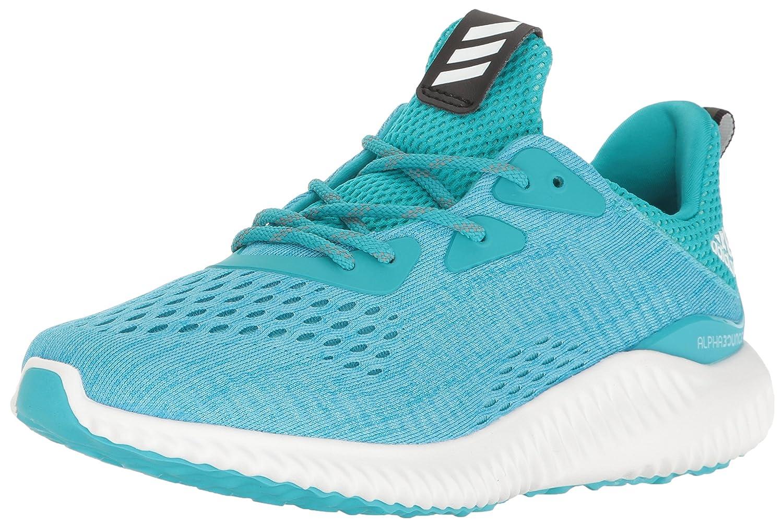 adidas Women's Alphabounce Em W Running Shoe B01LP55JGI 5 B(M) US|Energy Blue/White/Ocean