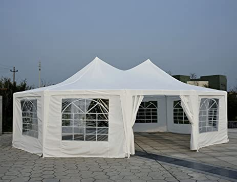 Outsunny 29 X 21 10 Wall Large Party Gazebo Tent
