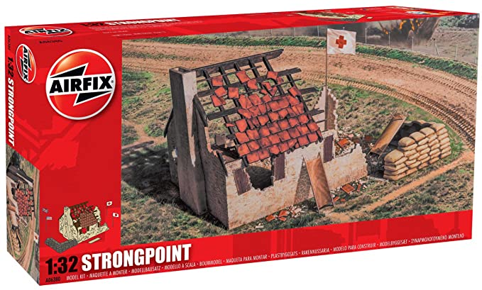 Airfix Strongpoint Building Kit, 1:32 Scale
