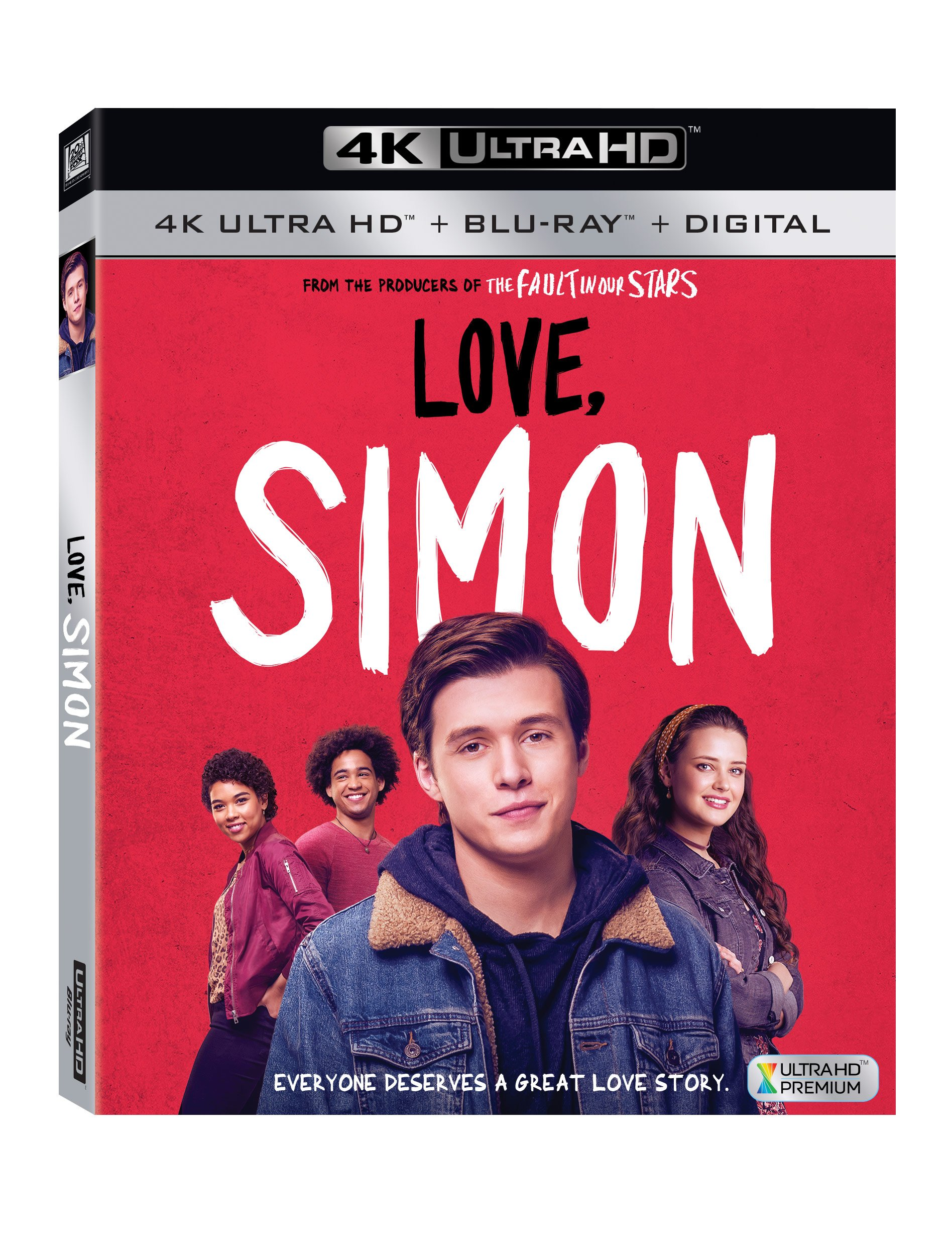 4K Blu-ray : Love, Simon (Digital Theater System, Subtitled, Widescreen, Dolby, 2PC)