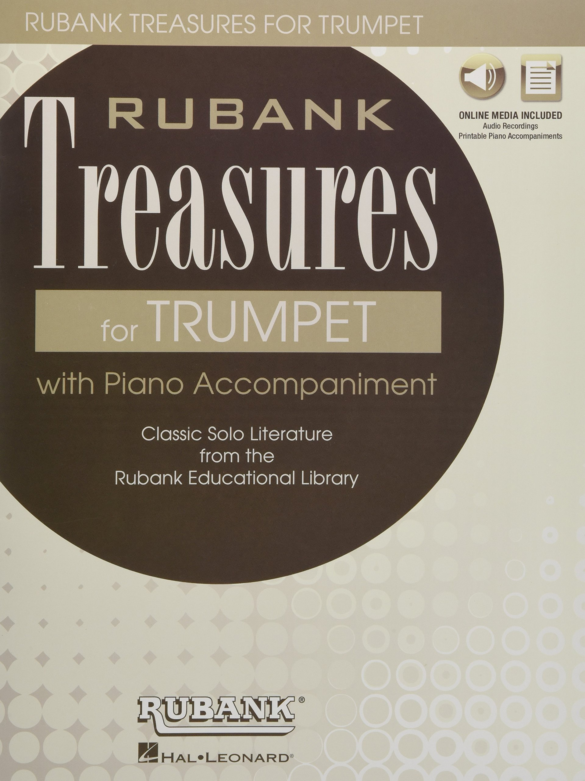 Rubank Treasures for Trumpet: Book with Online Audio (stream or download)