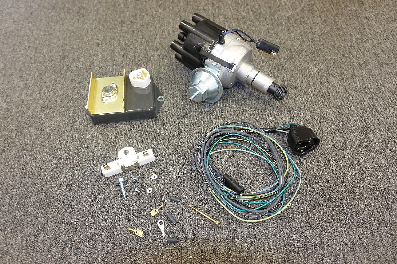 Dodge Mopar Slant 6 Electronic Distributor Kit Fits 170 Six Engine Ignition Wiring Diagram 198 225 Automotive