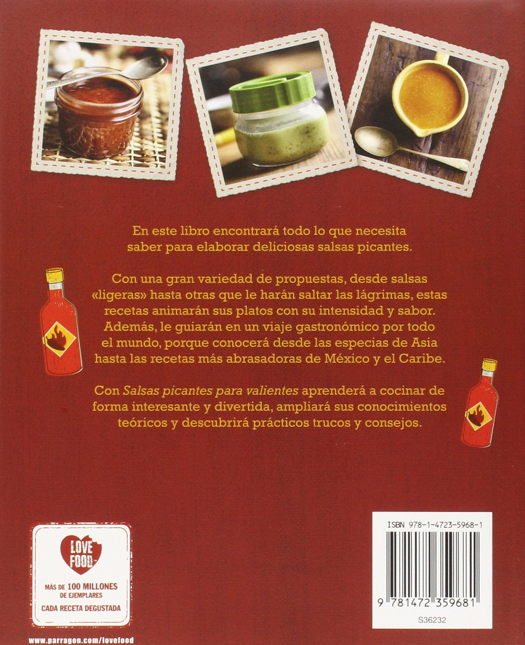 Salsas Picantes Para Valientes (Food Heroes) (Spanish Edition): Parragon Books: 9781472359681: Amazon.com: Books
