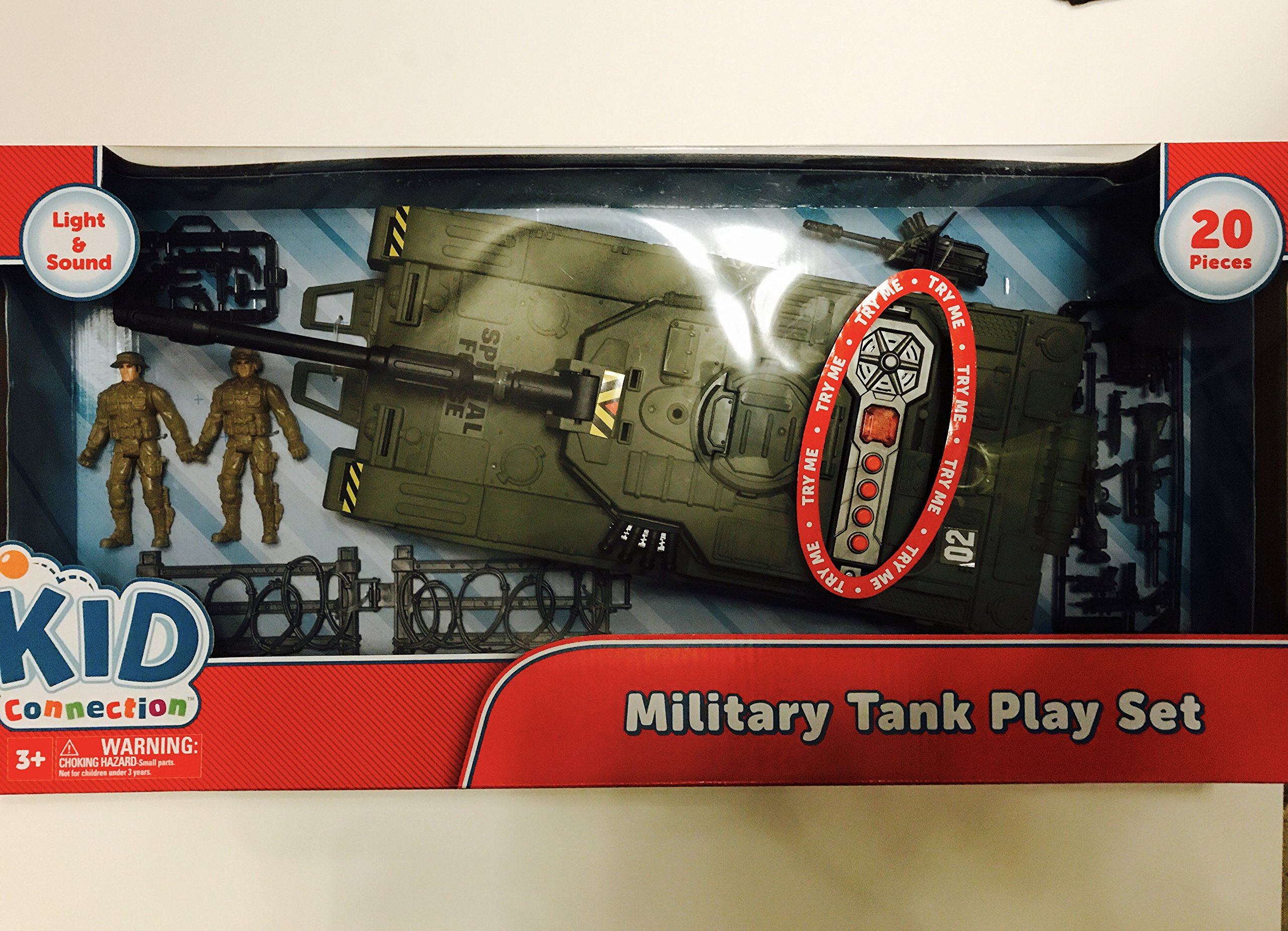 Kid Connection Military Tank Playset