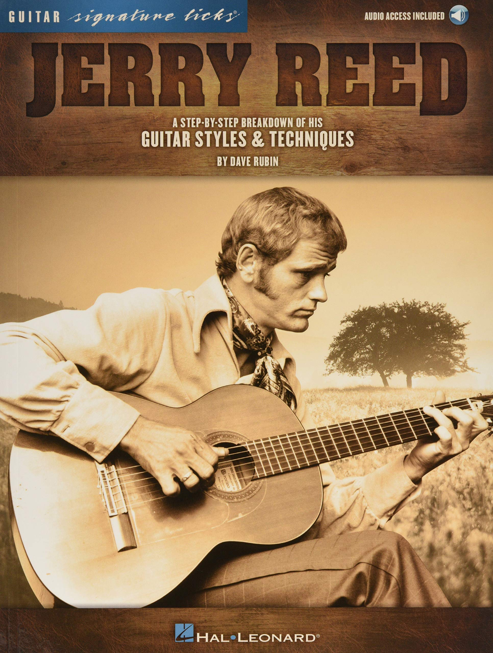 JERRY REED - SIGNATURE LICKS (Guitar Signature Licks): Amazon.es ...