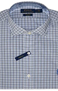 Polo Ralph Lauren Men/'s Classic Fit Puppytooth Dress Shirt