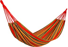 YKS Canvas Hammock (79 Inch × 34 Inch, 330 Pounds Maximum Capacity)