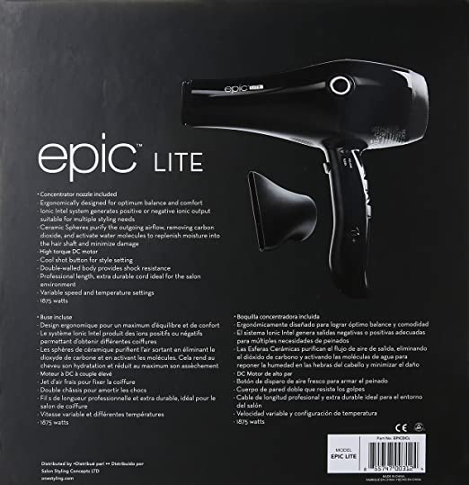 Amazon Com One Styling Epic Lite Hair Dryer 28 96 Ounce Beauty