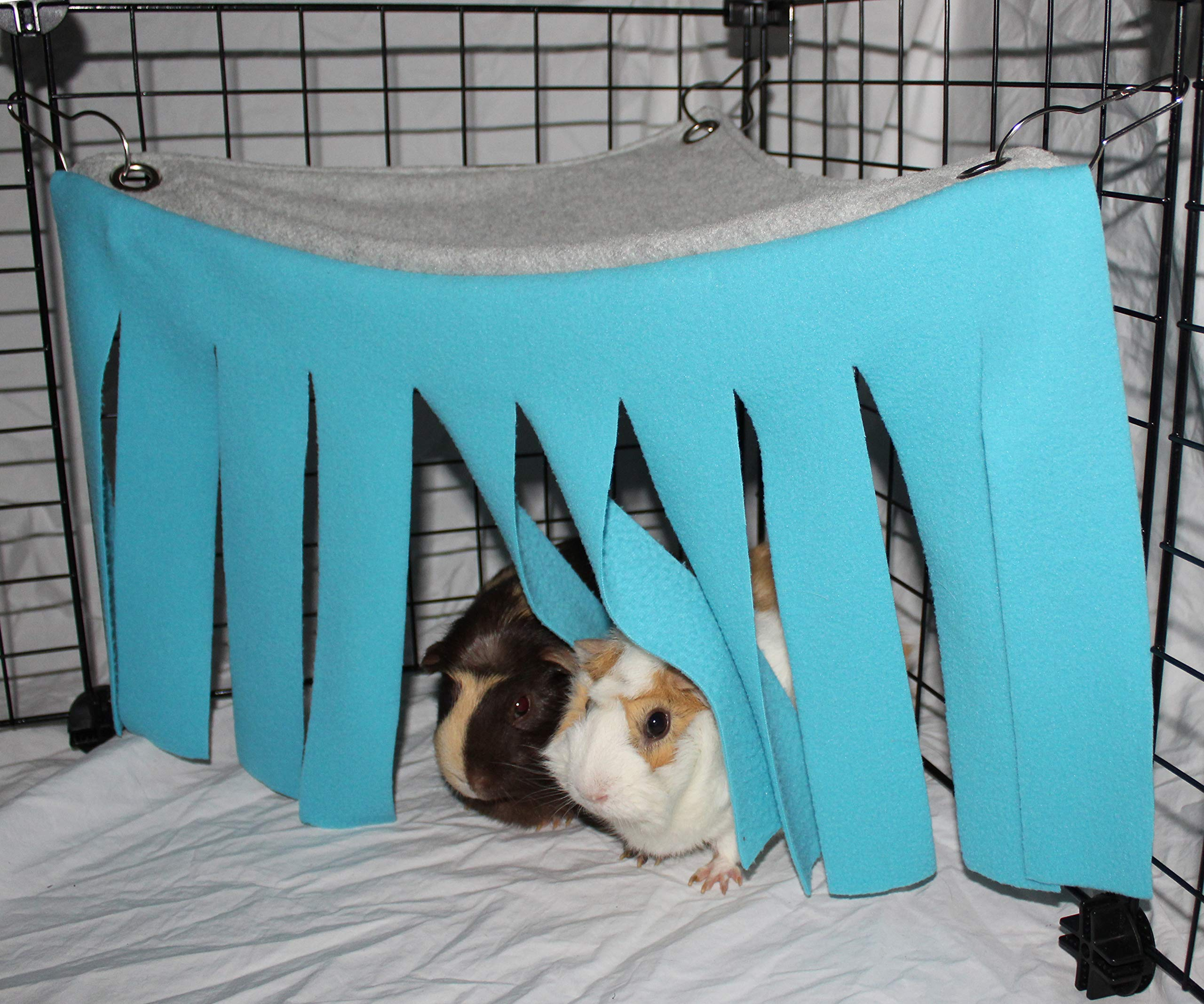 Corner Fleece Forest Hideout for Guinea Pigs, Ferrets, Chinchillas, Hedgehogs, Dwarf Rabbits and Other Small Pets - Accessories and Toys 3