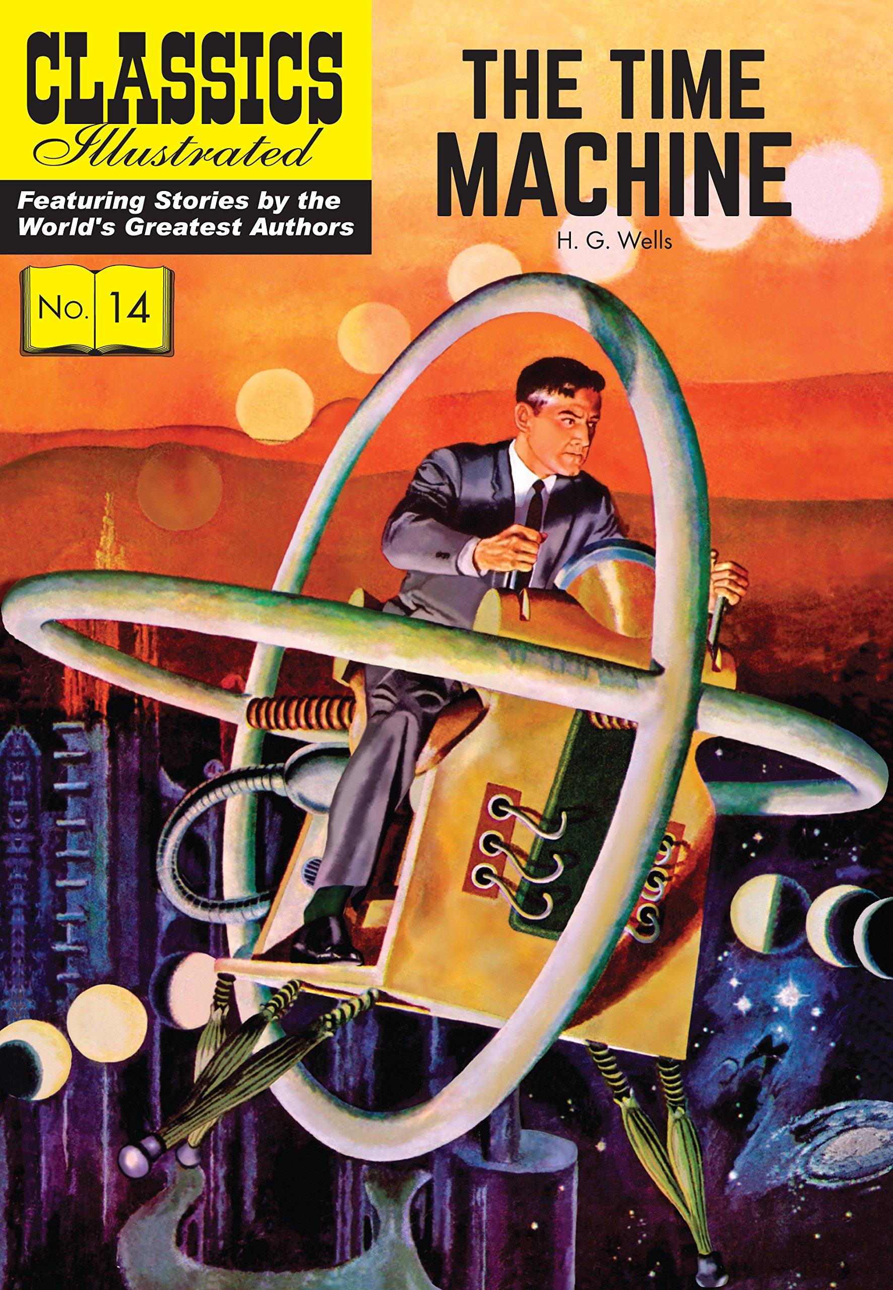 Download The Time Machine (Classics Illustrated) PDF