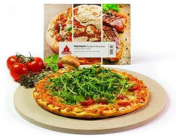Pompeij® Piedra para Pizza | Piedra para Horno y Parrilla ...