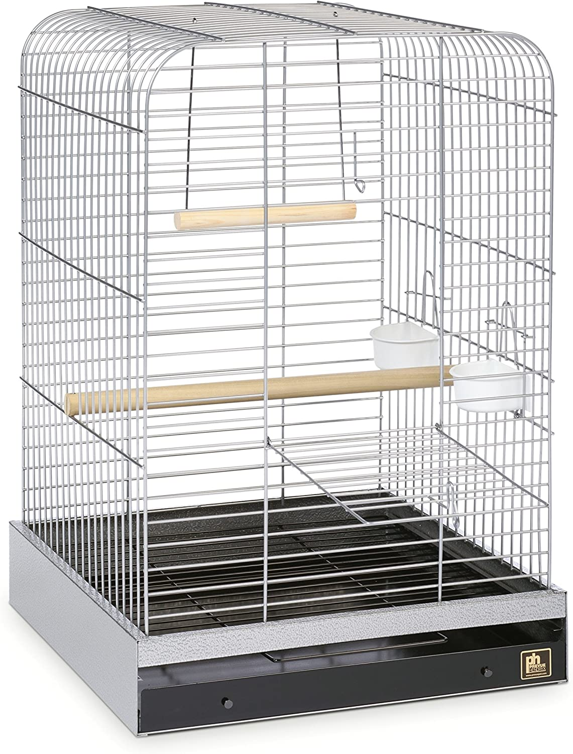 B0002AQ3EK Prevue Pet Products 125C Parrot Cage, Chrome 911S1BZV0ML.SL1500_
