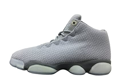 Jordan Horizon Low Wolf Grey Gym Red-Cool Grey (Big Kid) ( 4aa476a92
