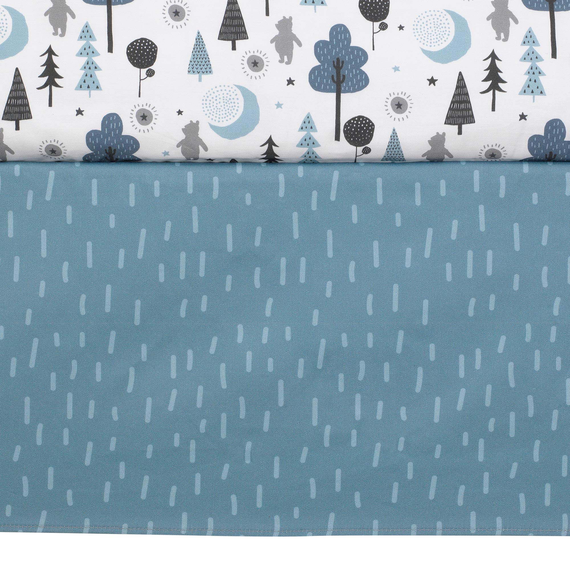 Lambs & Ivy Forever Pooh 3Piece Baby Crib Bedding Set, Blue by Lambs & Ivy (Image #8)