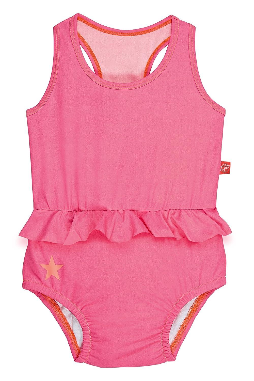 Lässig Splash & Fun Tanksuit / Baby Badeanzug girls, L / 18 Monate, light pink LSFTKSG800-18