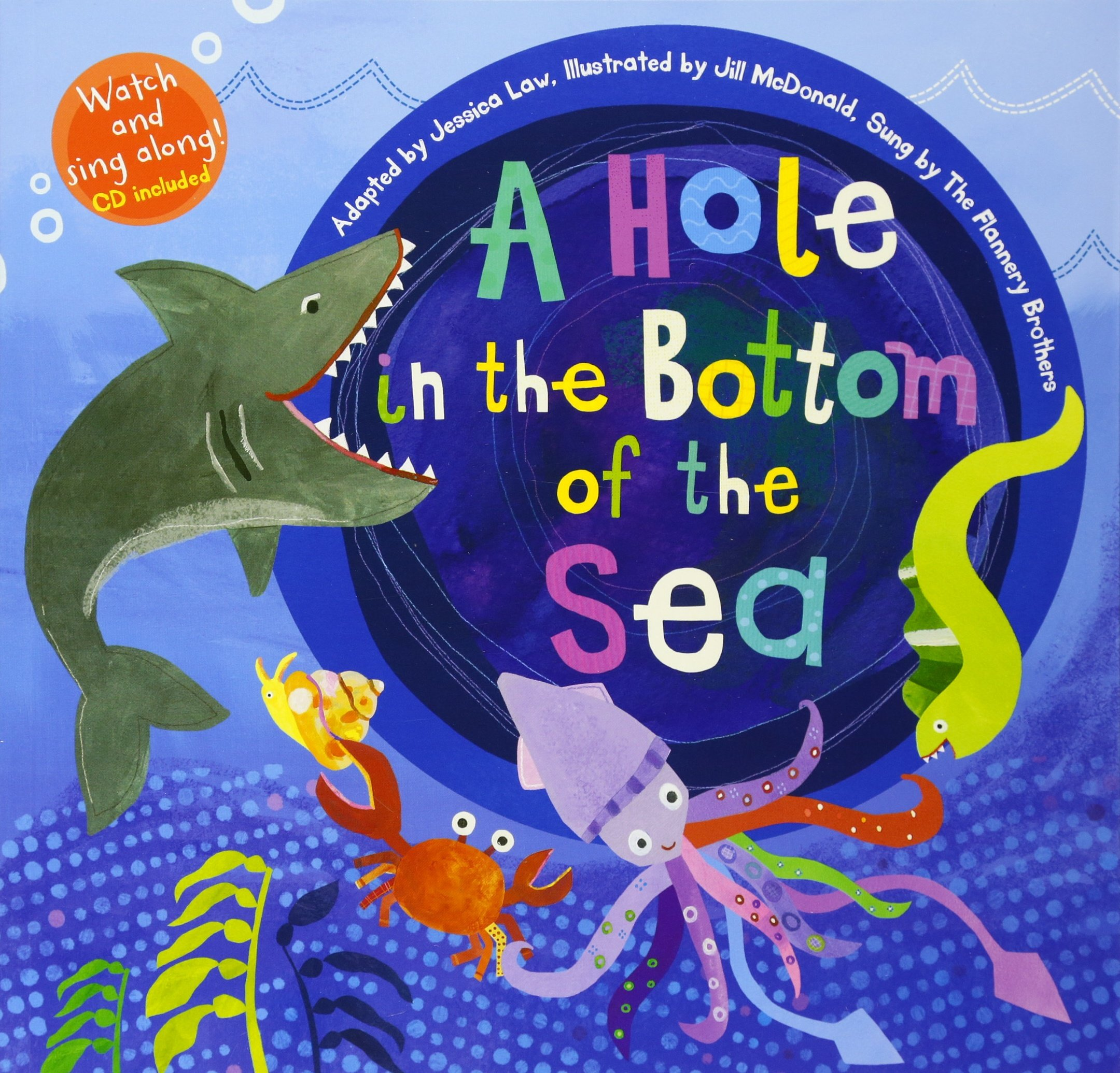 sea bottom in of Hole the
