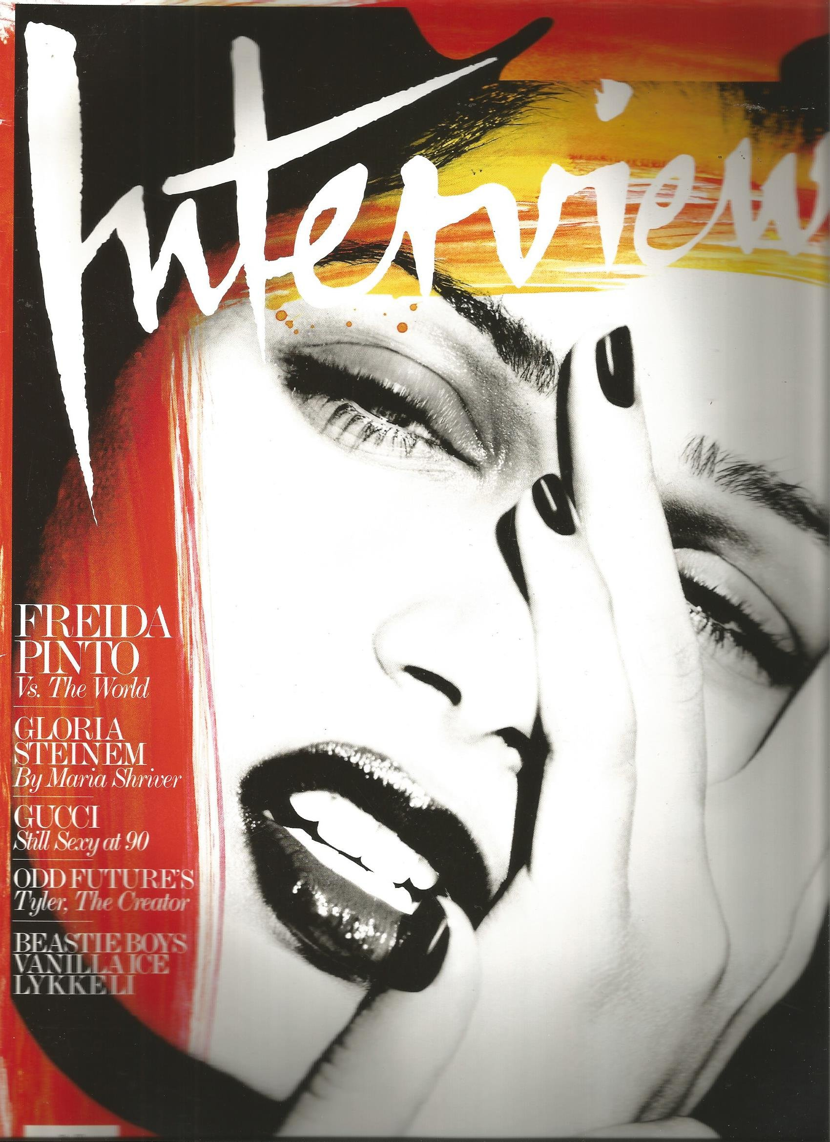 Interview Magazine (August 2011,Freida Pinto,Beastie Boys) pdf epub
