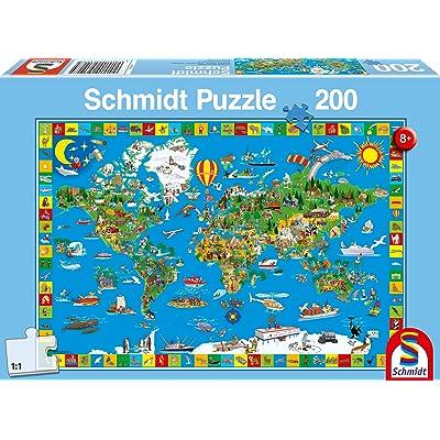 Schmidt Children's Your Amazing World Puzzle (200-Piece): Toys & Games