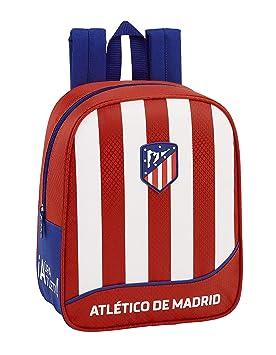 Atlético de Madrid Club de fútbol Mochila guardería niño Adaptable Carro: Amazon.es: Equipaje