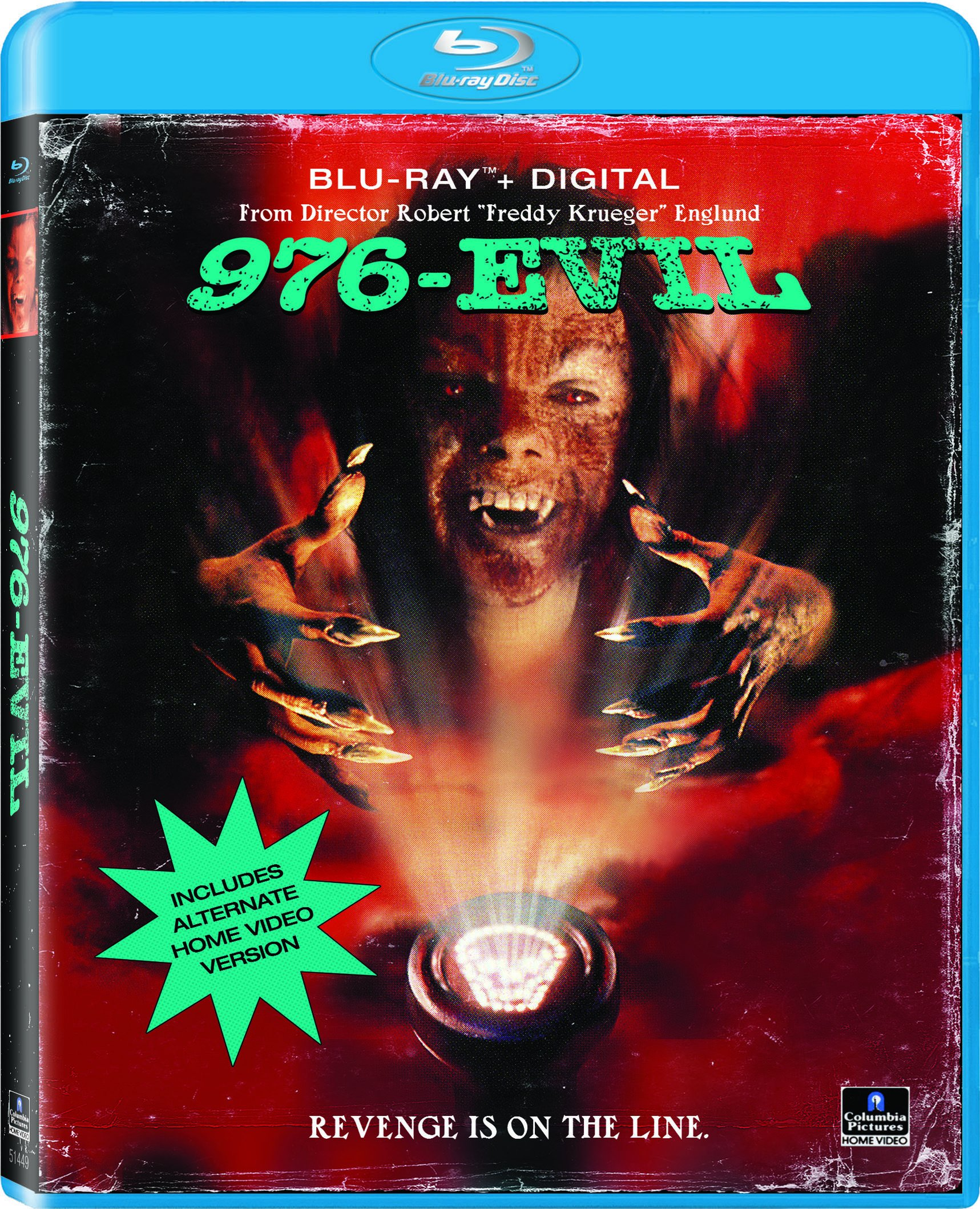 Blu-ray : 976-Evil (Full Frame, Ultraviolet Digital Copy, Widescreen, AC-3, )