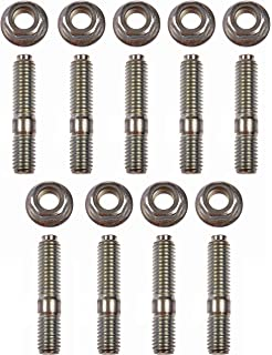 1320 Performance Stainless Exhaust Manifold Stud Studs Bolt Kit For Honda Acura H-series K-series D-series F-series Engines To Be Distributed All Over The World Intake Manifold Automobiles & Motorcycles
