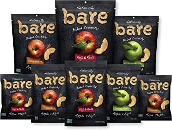 24-Count Bare Natural Apple Baked Chips 0.53-Oz. (Variety Pack)