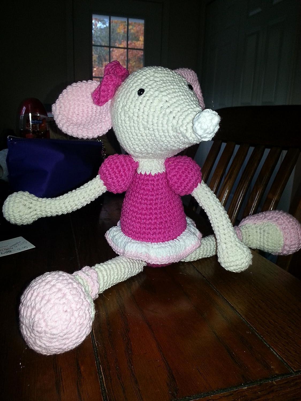 Amazon.com: Amigurumi Crochet Ballerina Mouse: Handmade