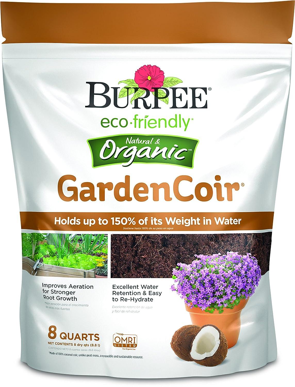 Burpee Natural & Organic GardenCoir, 8 Quart, ((1 Pack)