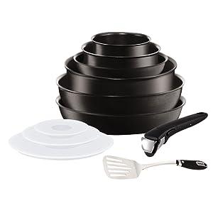 d1bbfb6086dea Tefal L6509902 Set de poêles et casseroles – Ingenio 5 Expertise Set 11  Pièces – Tous feux dont induction