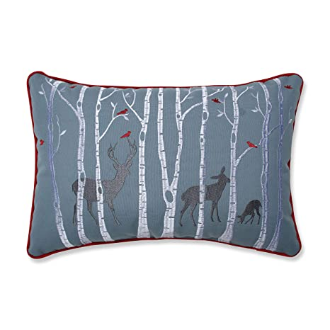Amazon.com: Almohada perfecta de Navidad Woodland ciervo ...