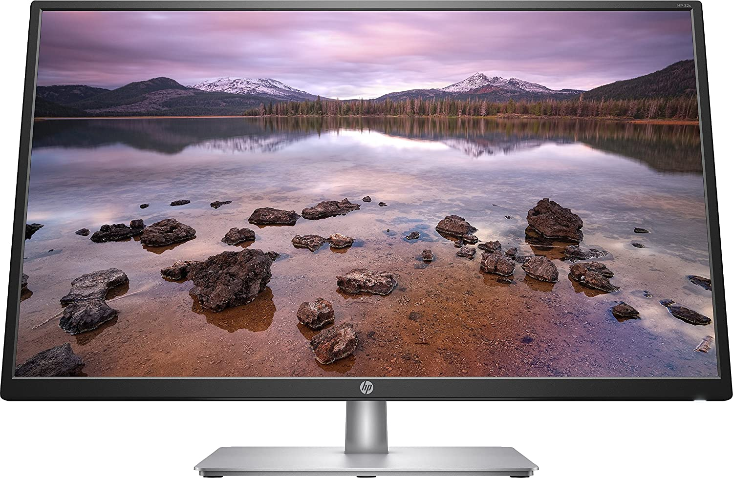 HP 32s, Monitor Fhd (IPS con Retroiluminación Led, 250 CD/M², 5 Ms Gris a Gris, 1200.1, 178°, Vga, Hdmi), 32'', Plata