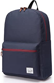 Vaschy Unisex Classic Water Resistant School Rucksack Travel Backpack  14Inch Laptop 458aade52c16c