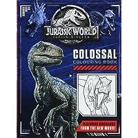 Jurassic World Fallen Kingdom Colossal Colouring Book (Colouring Books)