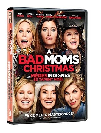 A Bad Moms Christmas Dvd Cover.A Bad Moms Christmas Bilingual Amazon Ca Various Eone Dvd