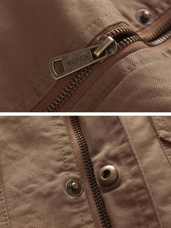 Wenven Herren Übergangsjacke Casual Casual Casual Outdoor Sportswear Militärjacke B078JMCFWX Jacken Sofortige Lieferung e44288