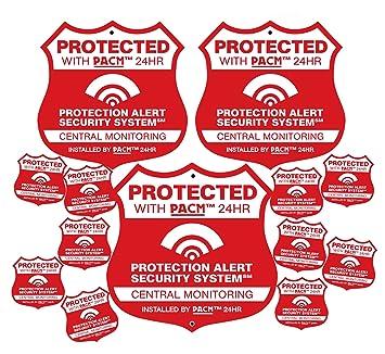 Amazon.com: 3 Pro alarma seguridad para el hogar sistema de ...