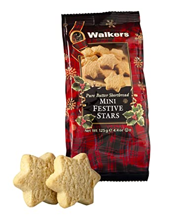 Walkers Mini Festive Shortbread Stars 4 4 Oz