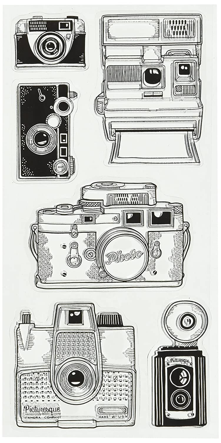 Inkadinkado 60-31325 Cameras Clear Stamp Set_60-31325 SONNY INDUSTRIAL CO.